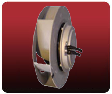 Centrifugal DC impeller