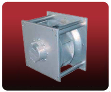 Centrifugal fans with free-running impelle